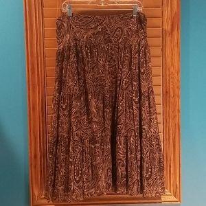 Lauren by Ralph Lauren Lined Skirt - Large